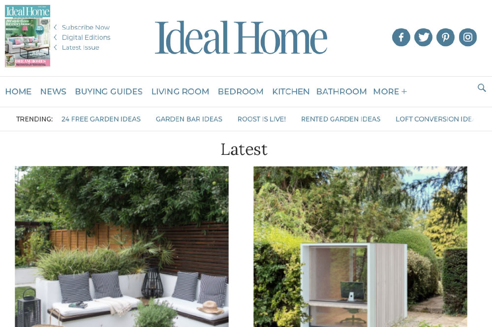 Ideal Home – everything you need to know about planning and building a room in the garden