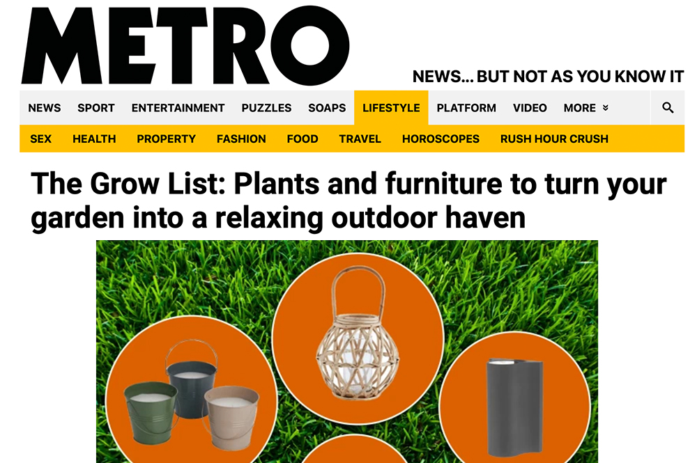 The Grow List: Plants and furniture to turn your garden into a relaxing outdoor haven